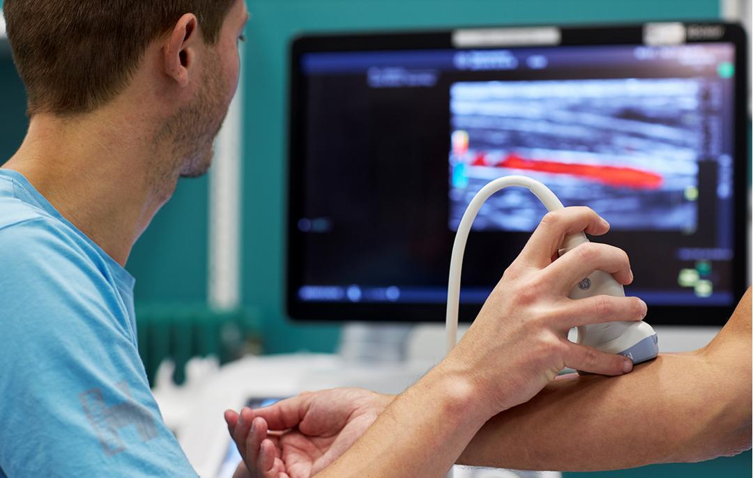Billede af en ultralydsskanning