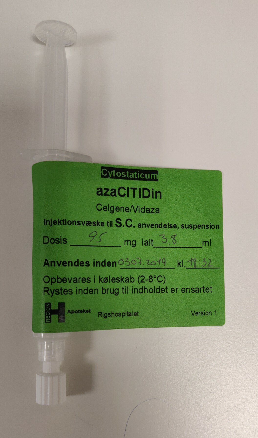 azaCITIDin