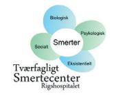 Billedet viser et logo af Tværfagligt Smertecenter