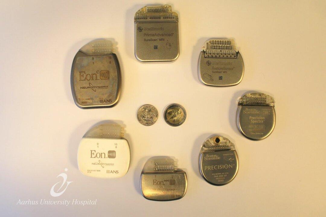 Batterier til den elektriske strøm.