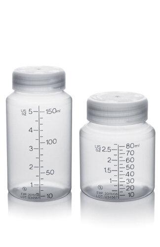 Engangsflasker til modermælk